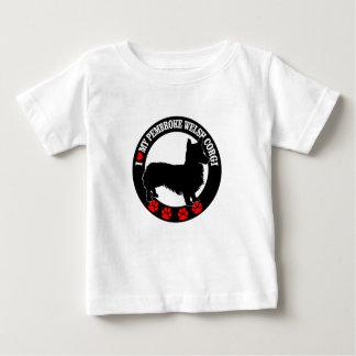 i love my welsh corgi baby T-Shirt