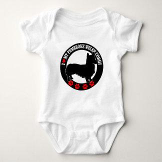 I Love My Welsh Corgi Casual Clothing Baby Bodysuit