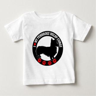 I Love My Welsh Corgi Casual Clothing Baby T-Shirt