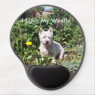 I Love My Westie Gel Mousemat Gel Mouse Pad
