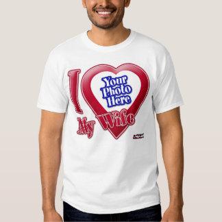 I Love My Wife - Photo Shirt