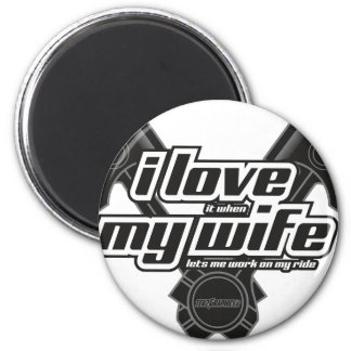 I love my wife - RIDE Magnet