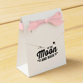I Love My Wife To The Moon And Back Favour Box