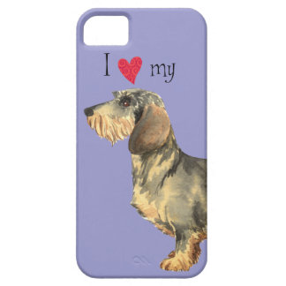I Love my Wirehaired Dachshund iPhone 5 Covers