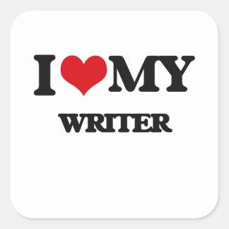 I love my Writer Stickers