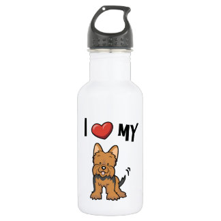 I love my Yorkie 532 Ml Water Bottle
