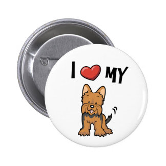 I love my Yorkie Buttons