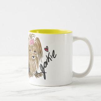 I Love My Yorkie coffee mug