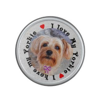 I love my Yorkie Female Yorkshire Terrier Dog Bluetooth Speaker