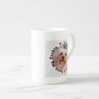 I love my Yorkie Female Yorkshire Terrier Dog Tea Cup