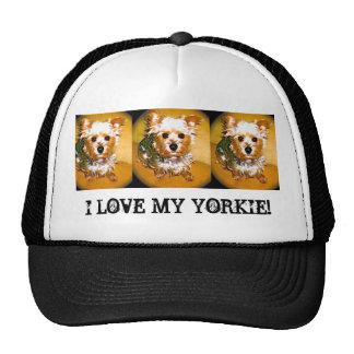 I LOVE MY YORKIE! HAT