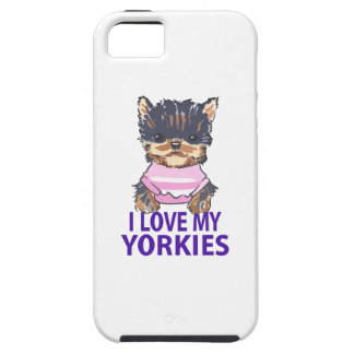 I LOVE MY YORKIES CASE FOR THE iPhone 5