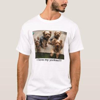 I love my yorkies!!! T-Shirt