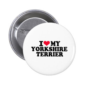 I love my Yorkshire Terrier Buttons