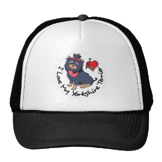 I-Love-My-Yorkshire-Terrier Cap