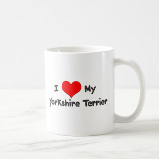 I Love My Yorkshire Terrier Coffee Mug