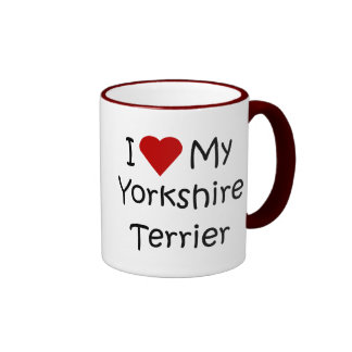 I Love My Yorkshire Terrier Dog Breed Lover Gifts Coffee Mug