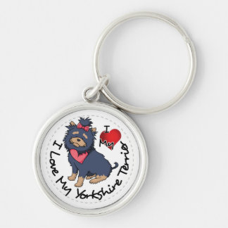 I-Love-My-Yorkshire-Terrier Key Ring