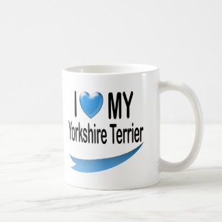 I Love MY Yorkshire Terrier Coffee Mugs