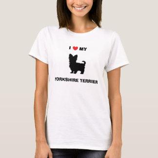 """I Love My Yorkshire Terrier"" Shirt"