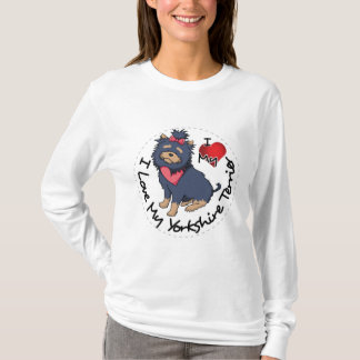 I-Love-My-Yorkshire-Terrier T-Shirt