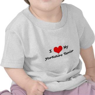 I Love My Yorkshire Terrier T-Shirt