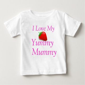 I Love My Yummy Mummy Baby T-shirt