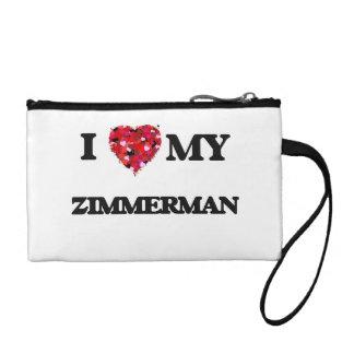 I Love MY Zimmerman Coin Purse