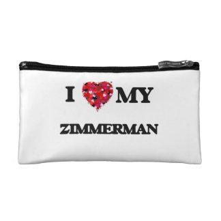 I Love MY Zimmerman Makeup Bag