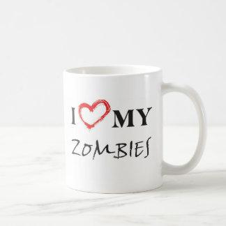 I love my zombies coffee mug