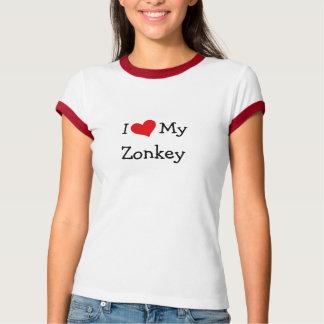 I Love My Zonkey Tshirt