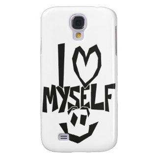 I love myself Smiley Galaxy S4 Cases