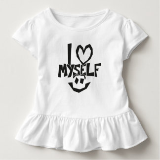 I love myself Smiley Toddler T-Shirt