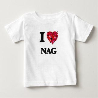 I Love Nag Tee Shirts