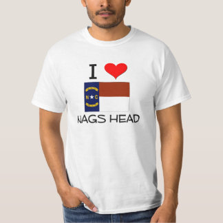 I Love Nags Head North Carolina T-Shirt