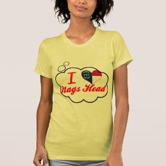 I Love Nags Head, North Carolina Tee Shirts