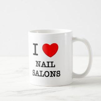 I Love Nail Salons Coffee Mugs