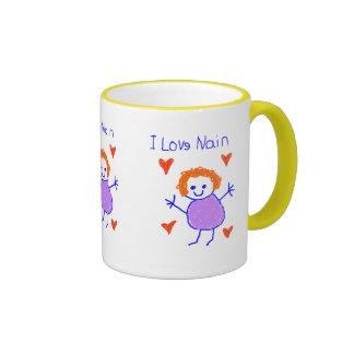 I Love Nain Coffee Mug