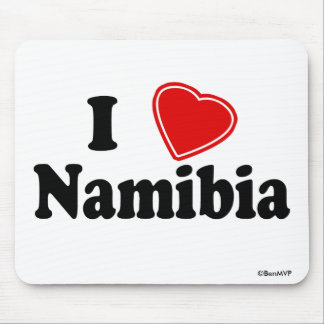 I Love Namibia Mousepads