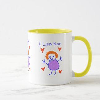 I Love Nan Mug