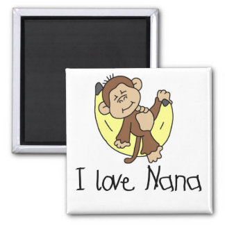 I Love Nana T-shirts and Gifts Magnet