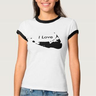 I Love Nantucket In BLACK for women T-Shirt