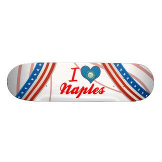 I Love Naples, South Dakota Custom Skate Board