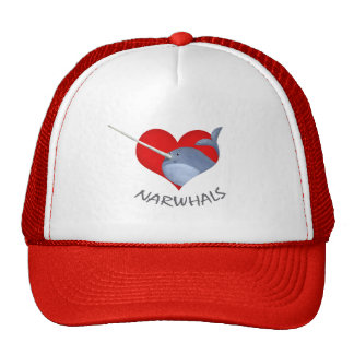 I love Narwhals Mesh Hat