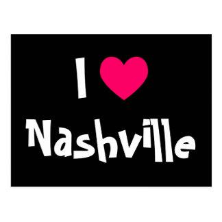 I Love Nashville Postcard