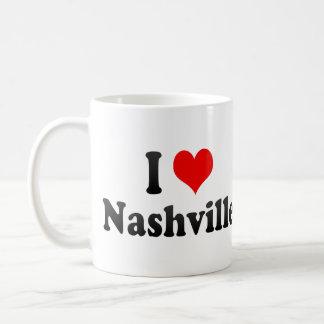 I Love Nashville, United States Coffee Mug