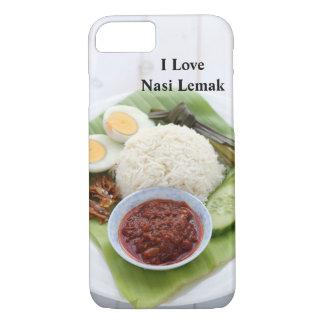 I Love Nasi Lemak iPhone 8/7 Case
