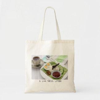 I love Nasi Lemak Tote Bag