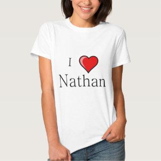 I Love Nathan Shirts