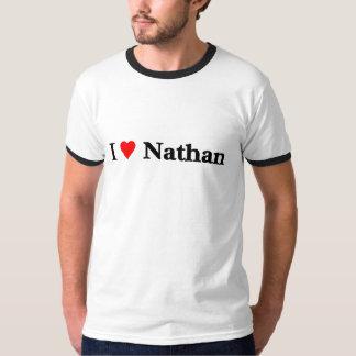 I Love Nathan Tees